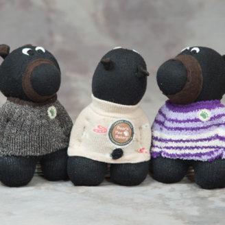 """Stuffed """"Bear Paw Betty"""""""